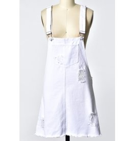 Trend Shop Overall Denim Skirt
