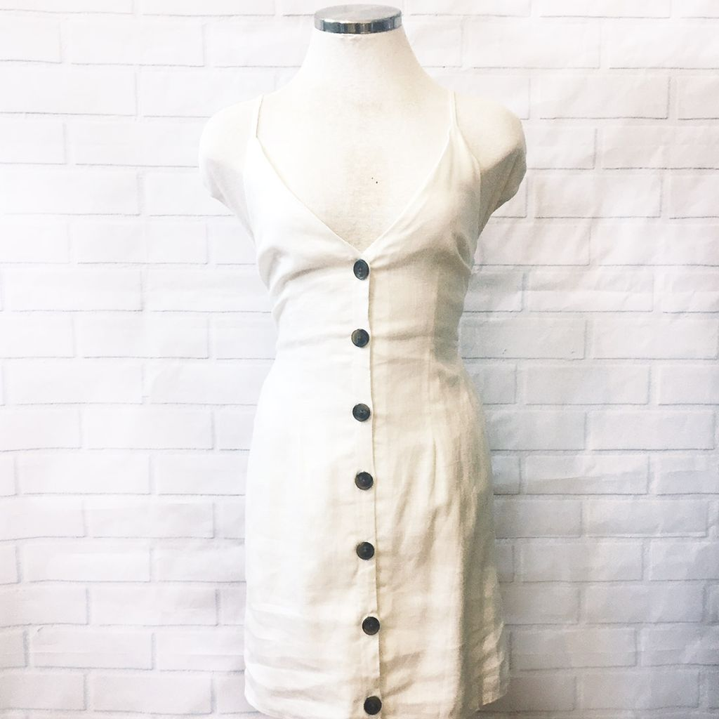 Kennedy Button Dress