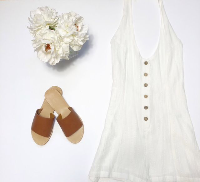 Candy Button Romper