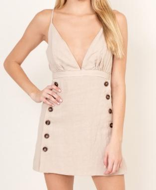 Karr Button Dress