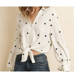 Give Me Some Poka-Dots Top