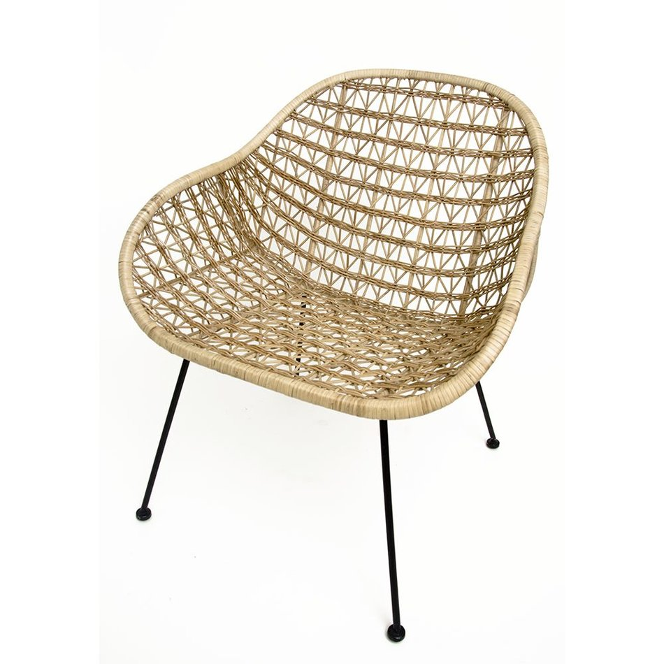 basket wire white furniture modern collection net product chair brickell
