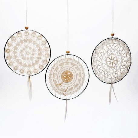 Vintage Lace Dream Catchers