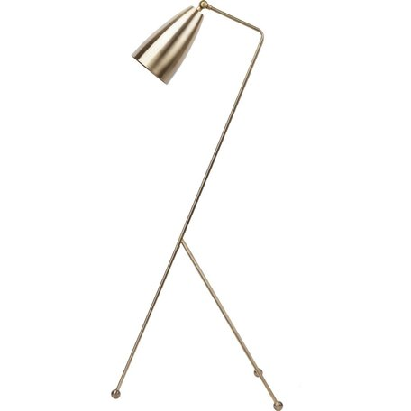 Lucille Floor Lamp -Antique Brass