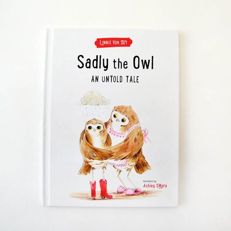 Sadly the Owl -Canadian kids book