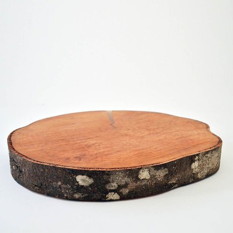 Wood Slice Serving Round - Alder