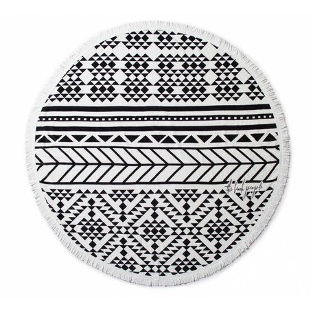 The Beach People Round Towel -Aztec