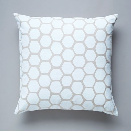 Honeycomb Pillow -White SALE