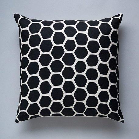 Honeycomb Pillow -Black SALE