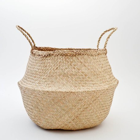 Natural Belly Basket -Large
