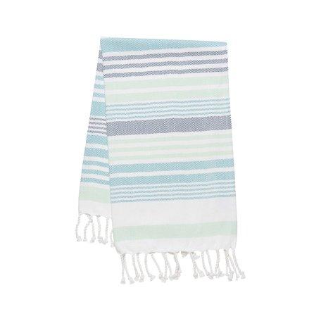 Hammam Hand/Tea Towel -Mint Stripe