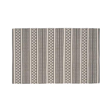 Geo Stripe Rug -2x3'