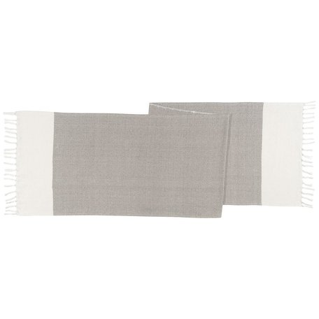 Asha Table Runner -Grey