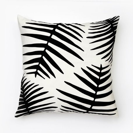 Palms Pillow -Black