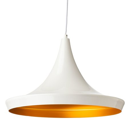 Big Euclid Pendant -White