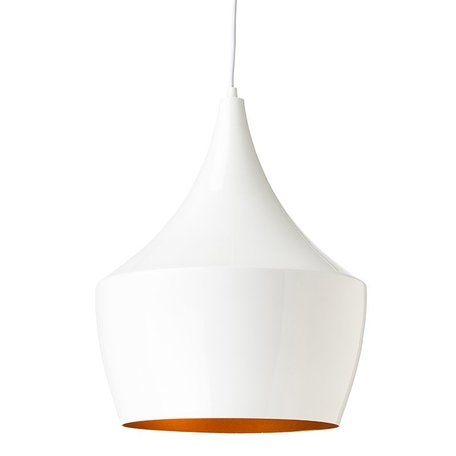 Big Karl Pendant  -White