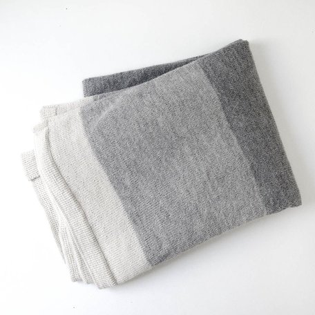Refuge Throw -Grey Scale SALE