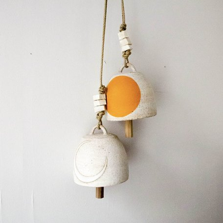 Crescent / Marigold Round Bell -Small
