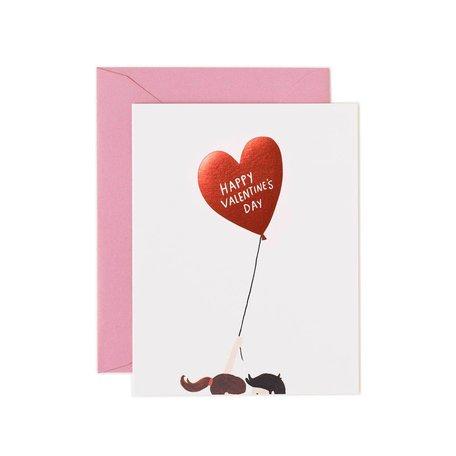 Valentine's Balloon Card