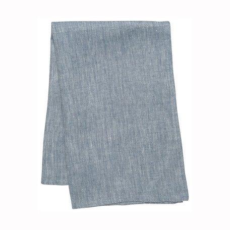 Parker Linen Teatowel -Blue