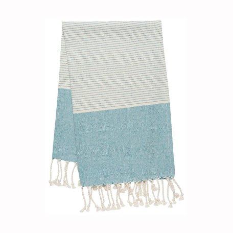 Hammam Hand/Tea Towel -Biscay Diamond
