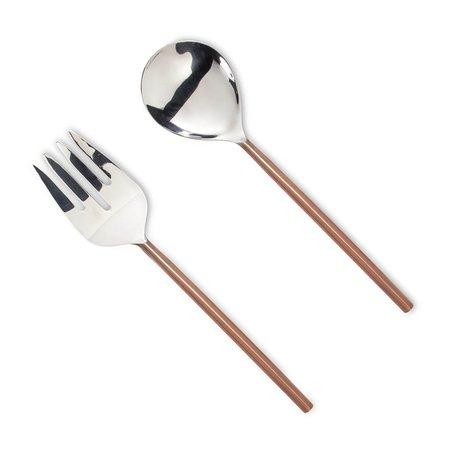 Salad Servers -Copper