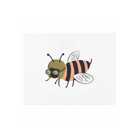 Bee Print 8x10 SALE