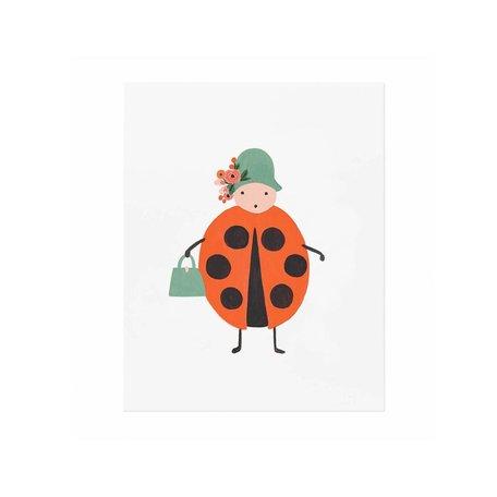 Ladybug Print 8x10