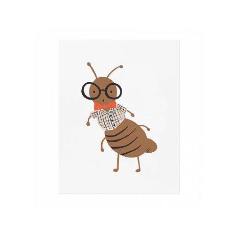 Ant Print 8x10 SALE