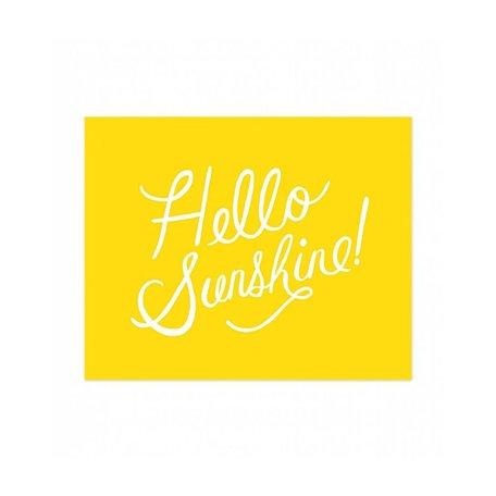 Hello Sunshine Print 8x10