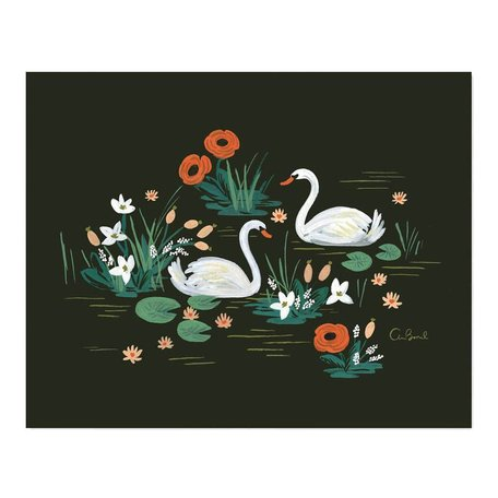 Swan Print 16x20