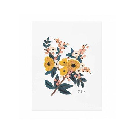 Marigold Botanical Print 8x10