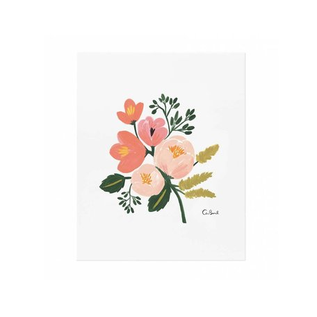Rose Botanical Print 8x10