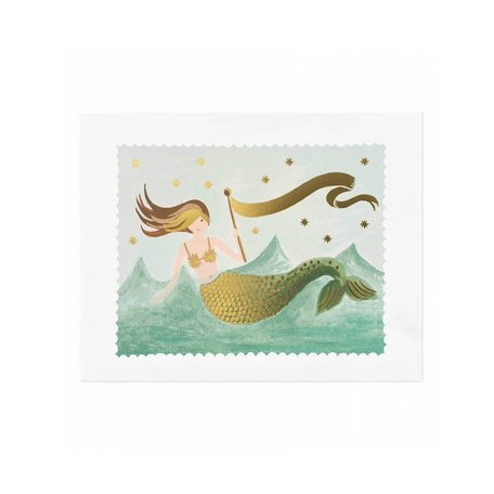 Mermaid Print 8x10