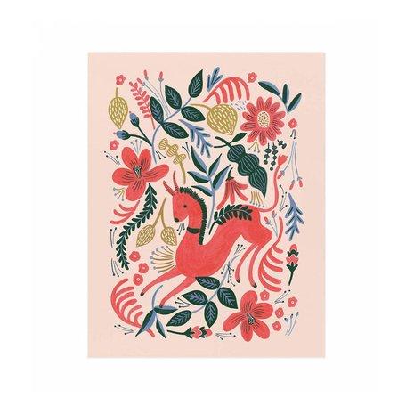 Ruby Folk Print -11x14
