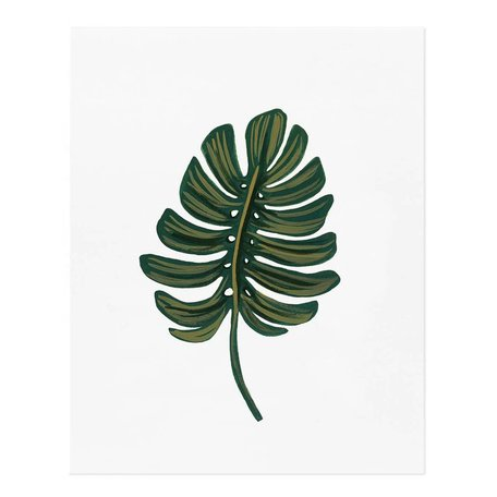 Monstera Leaf Print<br /> -16 x 20