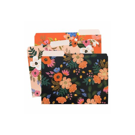 Lively Floral File Folder Sets