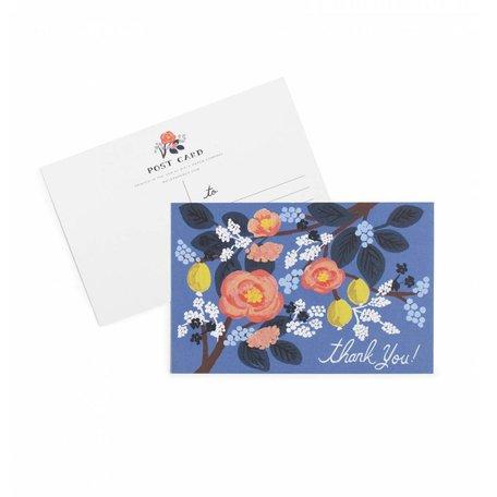 Cobalt Thank You Postcards