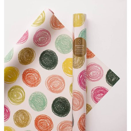 Party Dots Wrapping Paper