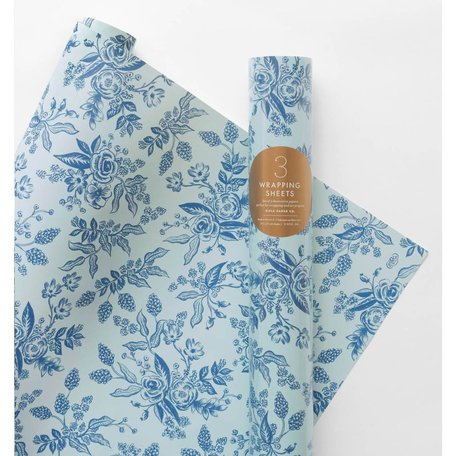 Toile Wrapping Paper
