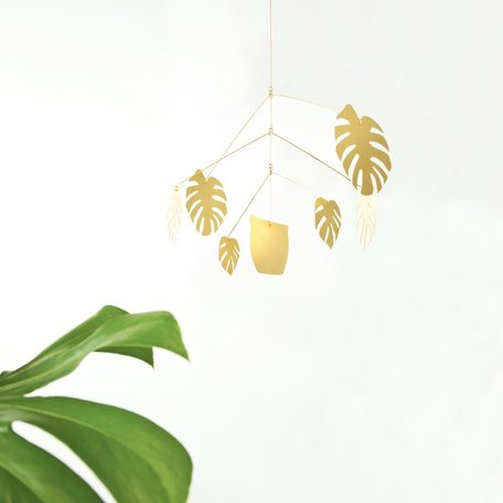 Monstera Deliciosa Mobile