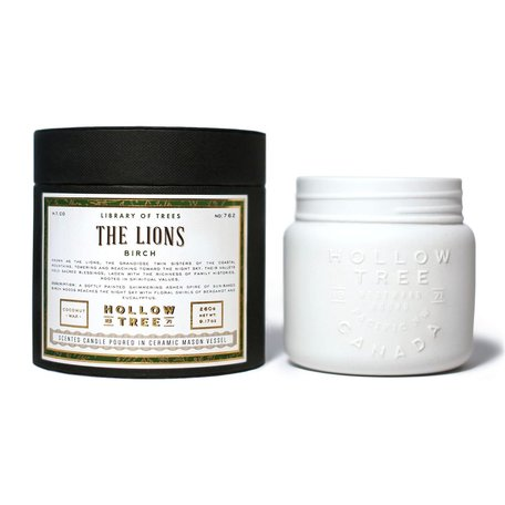 The Lions Candle