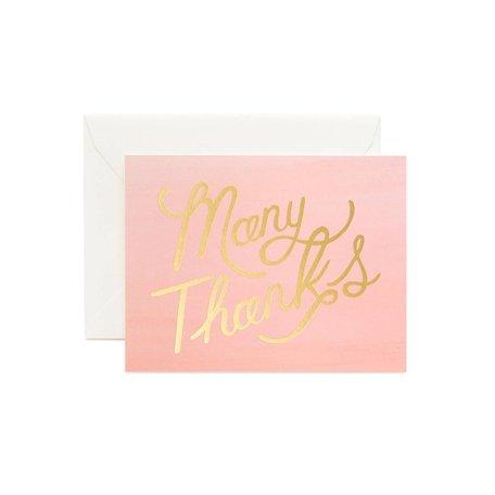 Ombré Many Thanks Card Box/8