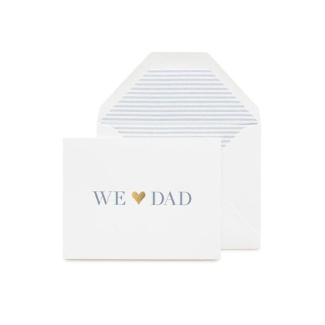 We Love Dad Card