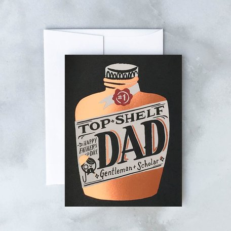Whiskey Fathers Day Card