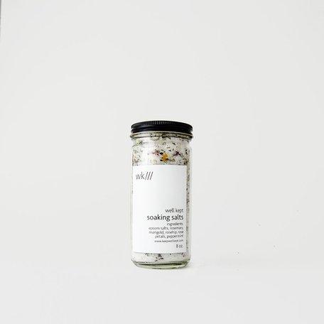 Soaking Salts 8oz