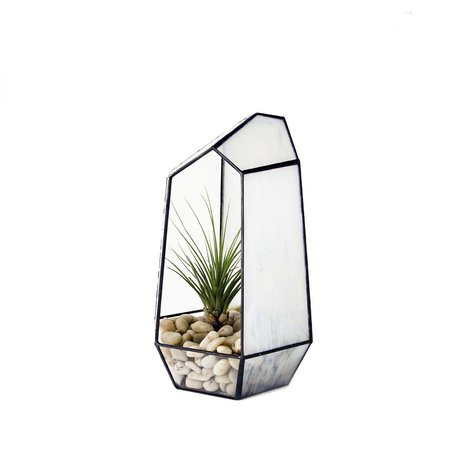 Crystal Stained Glass Terrarium -Medium