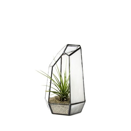 Crystal Stained Glass Terrarium -Small