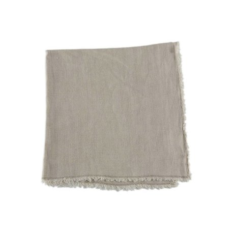 Sand Fringed Napkin -Set/2