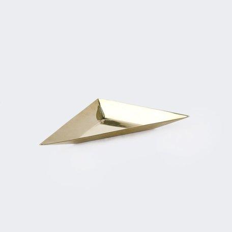 Brass Triangle Tray -Small